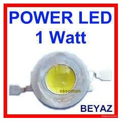 1 WATT - 1 W POWER LED