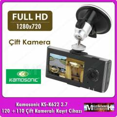 �ift Kameral� Ara� Dvr 2.7 inc Kamosonic KS-K622
