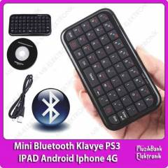 Mini Bluetooth Klavye PS3 IPAD Android Iphone 4S