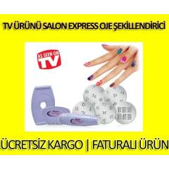 Tv �r�n� Salon Express Oje �ekillendirici