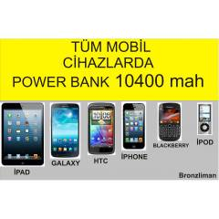 10400 mah POWER BANK 2 USB ��k��l� �arj cihaz�