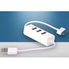 IPHONE/IPAD �ARJ DATA KABLOSU 3 PORT USB HUB