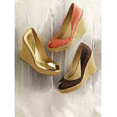 VS Colin Stuart Nefis Wedges Ayakkab� Gold 8,5