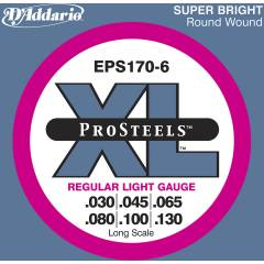 D'addario EPS170-6 Regular Light Tak�m Tel