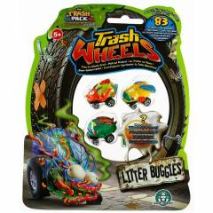 Trash Wheels ��ps Tekerler 4l� Paket Litter Bu
