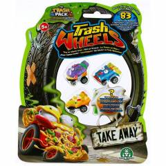 Trash Wheels ��ps Tekerler 4l� Paket Take Away