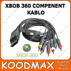XBOX 360 HD AV 6 U�LU COMPONENT VIDEO KABLO GOLD