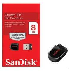 8GB SANDISK(sdcz33)CRUZER FIT M�N� USB FLASH