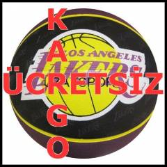 Spalding Los Angeles Lakers Basketbol Topu 9EG