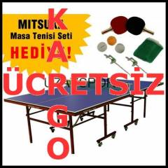 Mitsuka Fight Indoor MasaTenisi Masas� Ye�il G5U