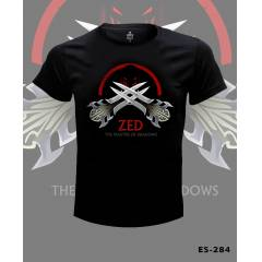 League of Legends Zed Tshirt 2 �CRETS�Z KARGO