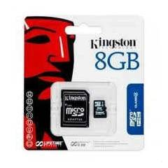 KINGSTON 8GB M�CRO HAFIZA KARTI CLASS4