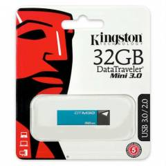 KINGSTON 32GB DATATRAVELLER MINI 3.0 USB BELLEK