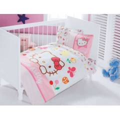 Hello Kitty Fancy Bebek Nevresim Tak�m�