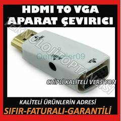 HDMI TO VGA + AUDIO SES PS3 XBOX 360 UYUMLU L�X