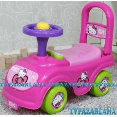 Oyuncak Hello Kitty Jumbo �lk Arabam Y�r�te� !!