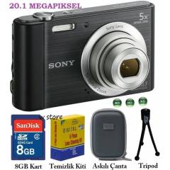 Sony DSC-W800 20.1 MP HD Foto�raf Makinesi
