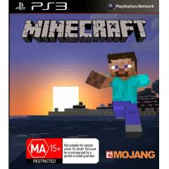 PS3 Minecraft MOJANG PS3 PLAYSTATiON EDiTiON