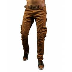 slim fit cargo pantolon dominic style