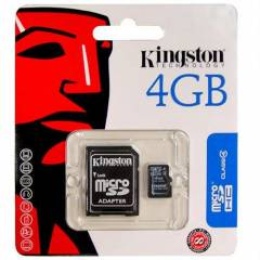Kingston 4 GB Micro SD Haf�za Kart�