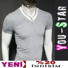 BBOMYOU Fashion V Yaka Body -S-M-L-XL-(j8�8)