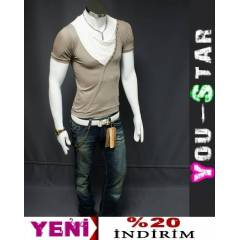 Youstar Fashion T-shirt S-M-L-XL-(CD44)