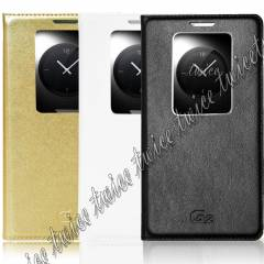 LG G2  KILIF D802 QUICK WINDOW DEL�X FL�P YEN�