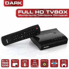 DARK Harici TV BOX 1920x1200 Analog TV Kart�