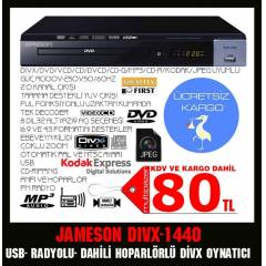 JAMESON DWIX-1440 DVD PLAYER RADYOLU DVD
