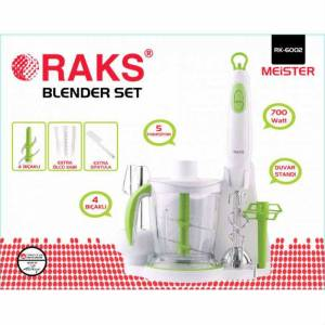 Raks RK6002 7 Par�a Komple Set 700 WATT