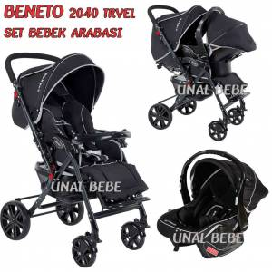 Beneto Travel Aleminyum SET Bebek Arabas� Puset