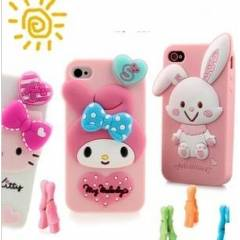 APPLE iPHONE 4/4S KILIF KAPAK HELLO KiTTY TAV�AN