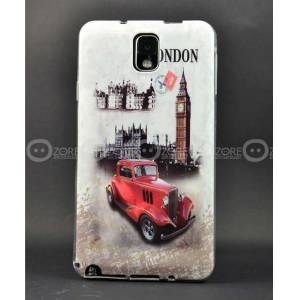 Galaxy Note 3 K�l�f N9000 London Car Silikon