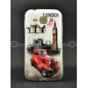 Galaxy Ace 3 K�l�f S7272 London Car Silikon Kapa