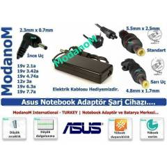 Asus N53JF-1C Adapt�r 19v 6.32a