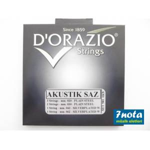 Dorazio 501AKS Saz Teli (Uzun Sap ��in-Metal Top