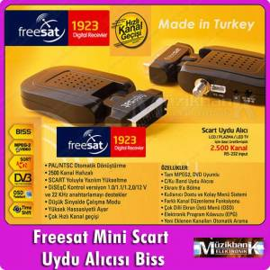 Freesat Mini Uydu Al�c�s� Biss'li  TV8 TRT3 A�A
