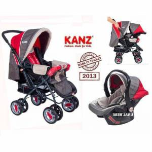 Kanz �ift Y�nl� Travel Bebek Arabas� Puset Set