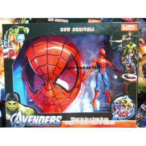 SPIDERMAN MASKEL� OYUNCAK ve F�G�R KUTULU SET