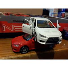1:32 WELLY �EK-BIRAK METAL MITSUB�SH� LANCER EVO