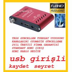 Mini Full HD Uydu Al�c�s� Usb'li H�REMCO HD