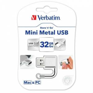 Verbatim Mini Metal 32GB Usb 3.0 Flash Bellek