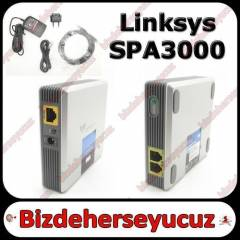 Linksys SPA3000 Voip Adapter FXS FXO PSTN
