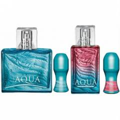 AVON AQUA BAY BAYAN PARF�M VE ROLL-ON 4'L� SET