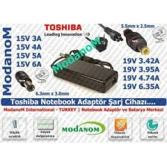 Toshiba Satellite L505-GS5039 Adapt�r 19v 4.74a