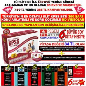 L�SE ve �NL�SANSLAR ���N KPSS  DVD SET� 2014