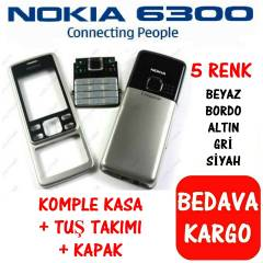 NOK�A 6300 KAPAK KASA TU� KOMPLE KASA FULL SET