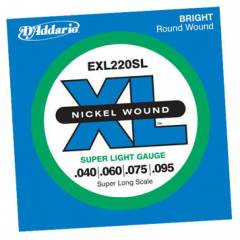D'addario EXL220SL Super Long Scale Tak�m Tel