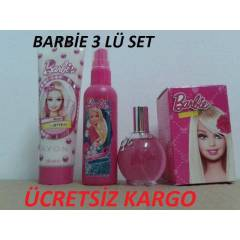 AVON BARB�E EDC 50 ML SPREY VE V�CUT KREM HED�YE
