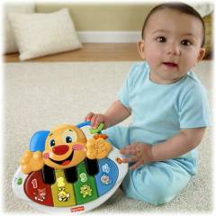 Fisher Price L&L E�itici K�pek�i�in Piyanosu
